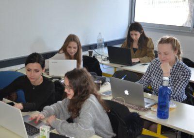 étudiants idelca projet domaine de la femme allongée
